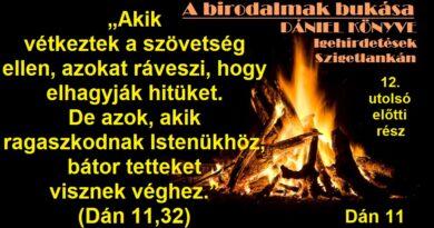 Igehirdetések Szigetlankán – Dán 11,32